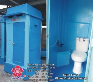 Toilet Portabel Tipe A Duduk
